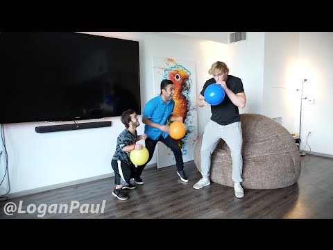 SUCKING HELIUM GONE WRONG! // Logan Paul