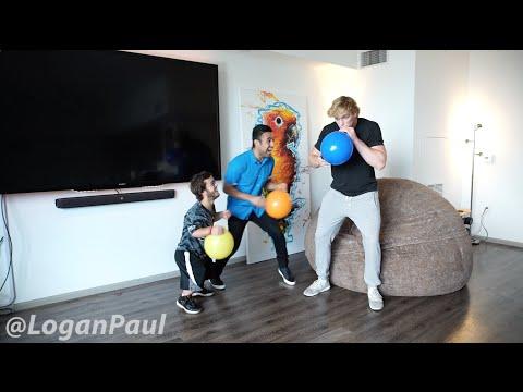 Download Youtube: SUCKING HELIUM GONE WRONG! // Logan Paul