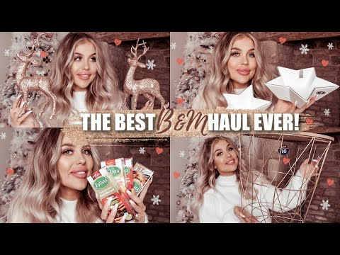 THE BEST B&M *CHRISTMAS* HOME DECOR HAUL EVER 2019!! Gemma Louise Miles