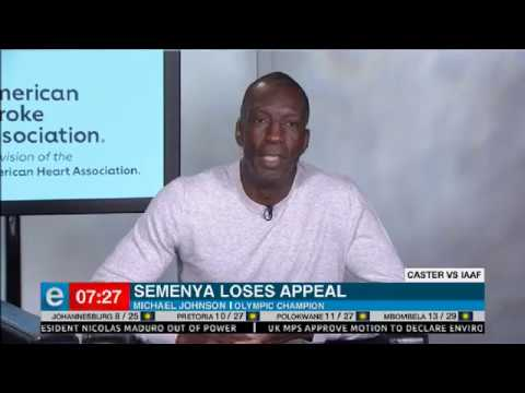 Michael Johnson weighs in on Semenya IAAF ruling