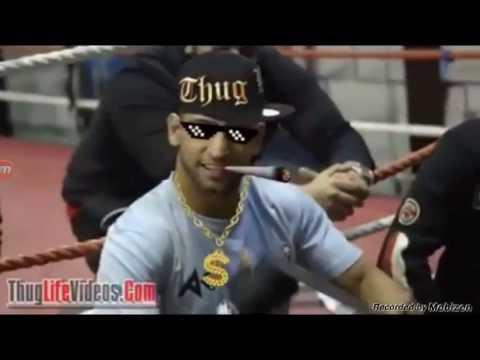 Boxer Amir Khan bottle trick Thuglife edition