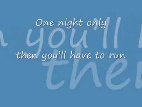 Jennifer Hudson one night only with lyrics