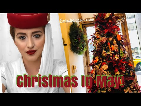 Christmas In May!... | EMIRATES CABIN CREW