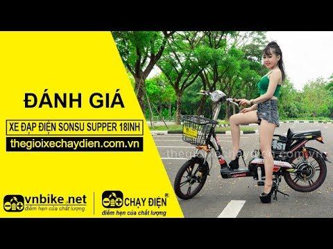 Đánh gia xe đạp điện Sonsu Supper 18inh