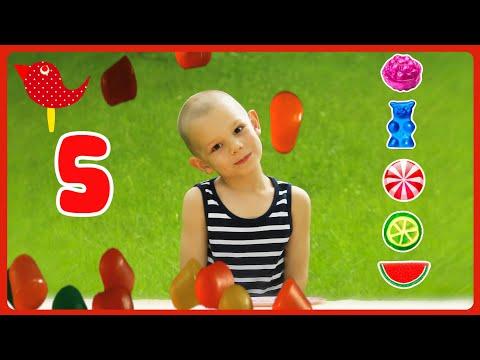 Päť cukríkov | Čarovná škôlka 1 | Detské pesničky