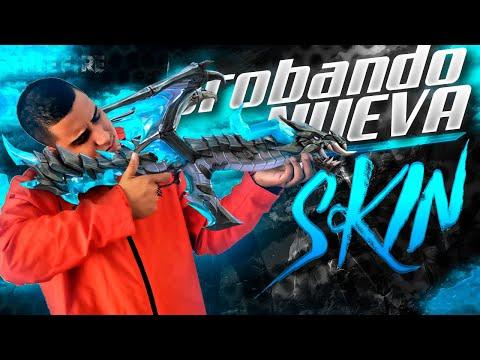 PROBANDO la nueva AK - 47 que EVOLUCIONA en un DRAGON!!! - FREE FIRE - MrStiven Tc