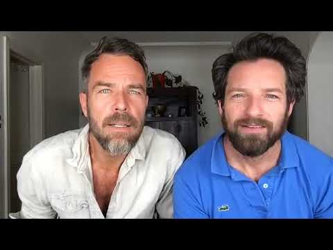JR Bourne & Ian Bohen  Facebook live 160917 they noticed me again