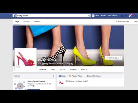 How to use your Facebook Page with Online Store from GoDaddy