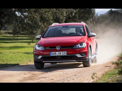 Volkswagen Golf SportWagen Alltrack 2017 Car Review