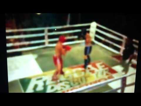 Royal Marine Knocks Out Swedish bloke in 47 secs in Thai Ring