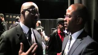 GTA-TV and Brother Maurice Brown at the 2013 Stellar Awards in Nashville, TN!
