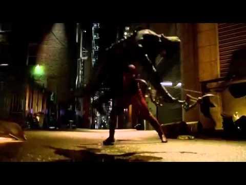 The Flash 1x08  Flash Vs  Arrow Arrow Crossover Fight Scene