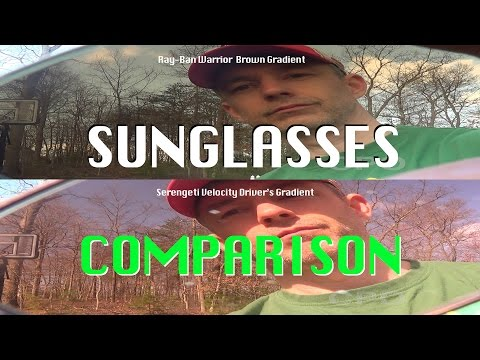 CPO Tidbit : Sunglasses! Serengeti vs Ray-Ban