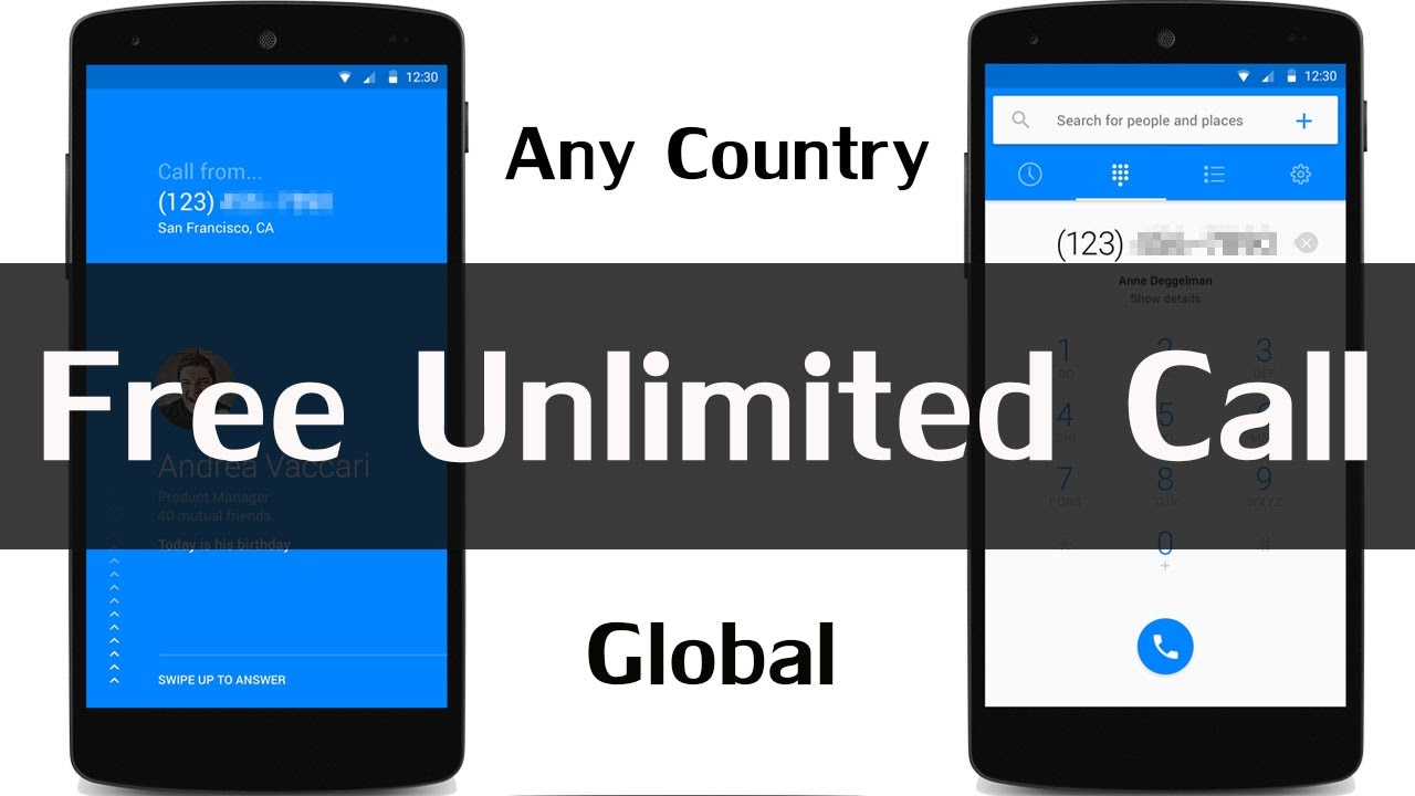 Best Free Calling App for Android to Any Number | Free Global Calls  Unlimited 2017