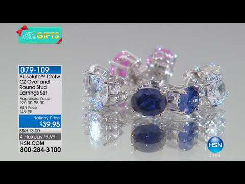 HSN | Absolute Jewelry 12.20.2017 - 02 AM