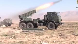 Это надо видеть!!! СИРИЯ СЕГОДНЯ. Грады накрывают боевиков ИГИЛ. БЕЗ ШАНСОВ!!! Новости Сирии сегодня