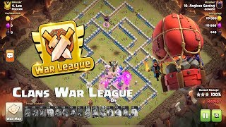 Clash of Clans War League GAMEPLAY! Amazing Raids By Donate Team
