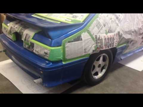 How to Spray Paint the Bodykit on your Car