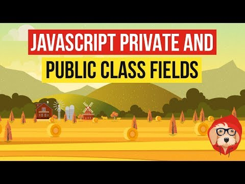 JavaScript Private and Public Class Fields