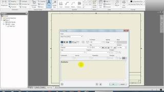 "Autodesk Inventor for Beginners - ""Creating a Blueprint Part 1/2"" - Lesson 4"