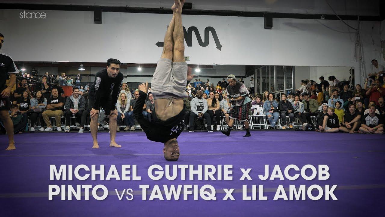 MICHAEL GUTHRIE x JACOB PINTO vs TAWFIQ x LIL AMOK [exhibition] // .stance // JAM GATHERING 2019