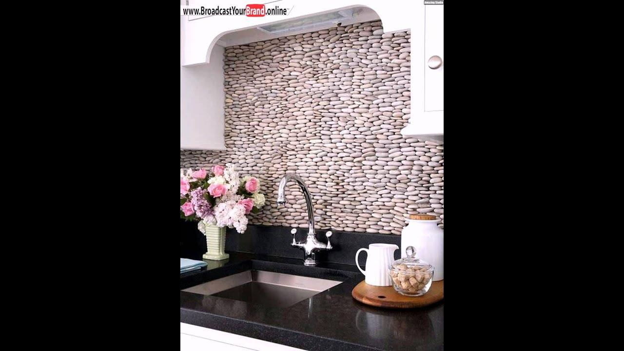 Küchenrückwand Ideen Flusssteine   YouTube