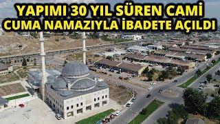 30 Yılda Tamamlanan 6 Bin Kişilik Cami Havadan Görüntülendi