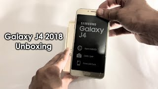 Samsung Galaxy J4 2018 Unboxing, First Look & Setup!