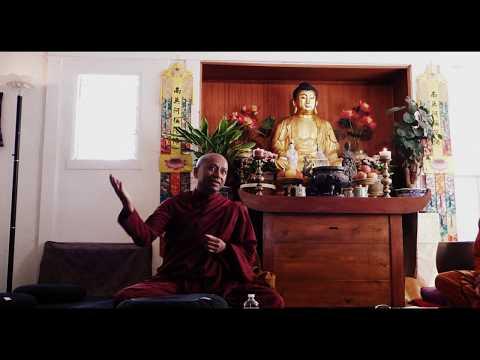 Ven. Ananda- Dhamma talk at International Buddhist Meditation center, Los Angeles, CA