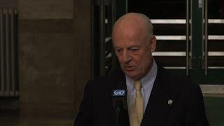 دي ميستورا يعلن البدء الرسمي لمحادثات جنيف لحل الازمة السورية