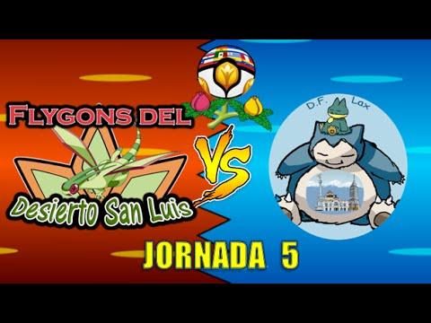 Liga Pokémon Latina: Flygons del Desierto San Luis VS. D.F. Lax [Jornada 5]