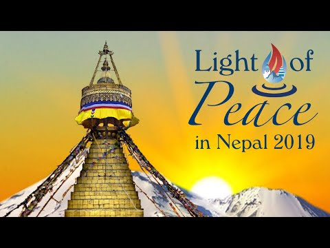LIGHT OF PEACE IN NEPAL 2019 (MOST AMAZING EVENT) VISIT NEPAL