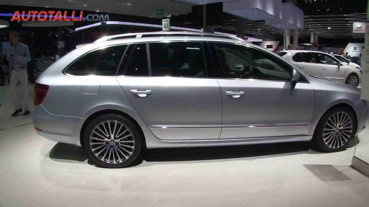 skoda superb combi laurin klement green tec 2013 youtube. Black Bedroom Furniture Sets. Home Design Ideas