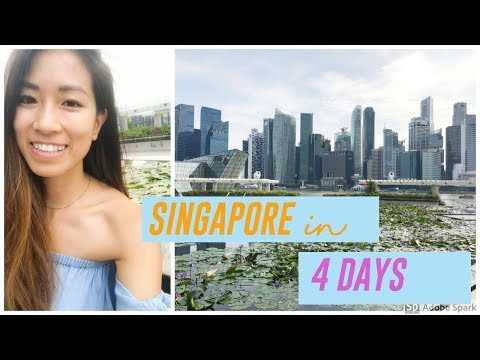 WHAT TO DO IN SINGAPORE 2018 || 4 Days Travel Guide