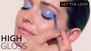 Glossy Eye Makeup Tutorial | GET THE LOOK | Feelunique
