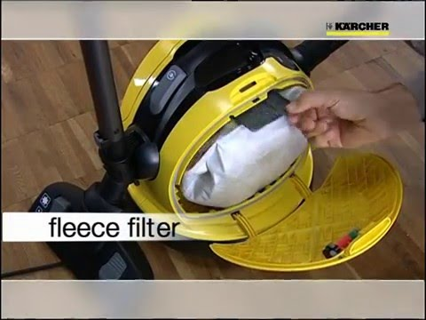 KARCHER VC6 DRY VACUUM CLEANER