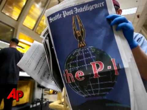 Last P-I Printed; Seattle Goes Web-Only