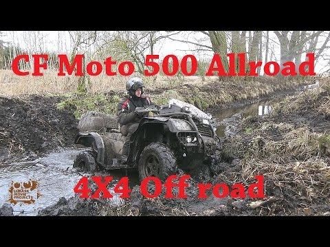ATV Cf Moto 500 Allroad Off road  4X4 Najlepszy budżetowy quad przeprawowy ?