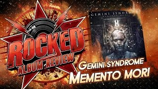 Gemini Syndrome – Memento Mori | Album Review | Rocked