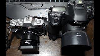 ประสบการณ์จริง Canon 80D vs. FUJI X-T20 คุณเลือกตัวไหน ? | อ.ธิติ ธาราสุข ARTT Master