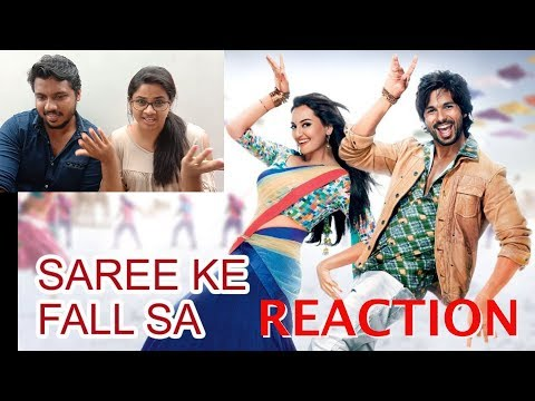 South Indians Reacting To Saree Ke Fall Sa Full Video Song | R...Rajkumar | Pritam