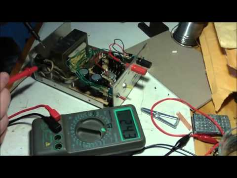 Fixing my Benchtop Power Supply