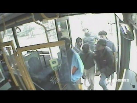 Seven + Nine News. Blacks Attack Autistic Boy On Bus.(Phone+Runners)(Tarneit)