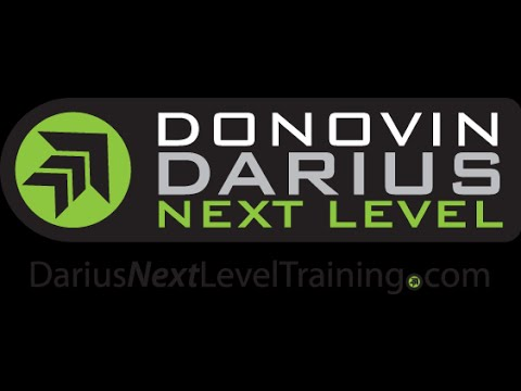 Donovin Darius Defensive Back Academy Marcos Reyes Session #4