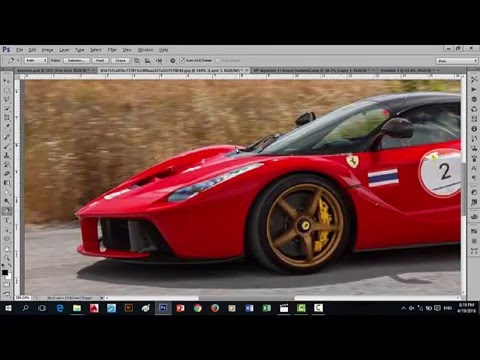 Basic Photoshop cs6 Tagalog tutorials for beginners (Pen tool)