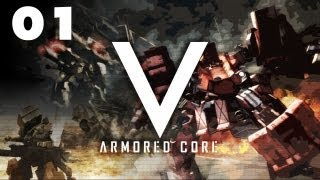 "★ Armored Core V Walkthrough - Part 1 ""Intro and Prologue"""