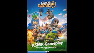 ASMR Portugues Clash Royale Voz Suave Inaudível Gameplay