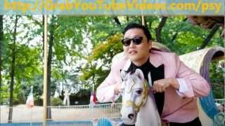 Psy - Gangnam Style (MP3 song download)