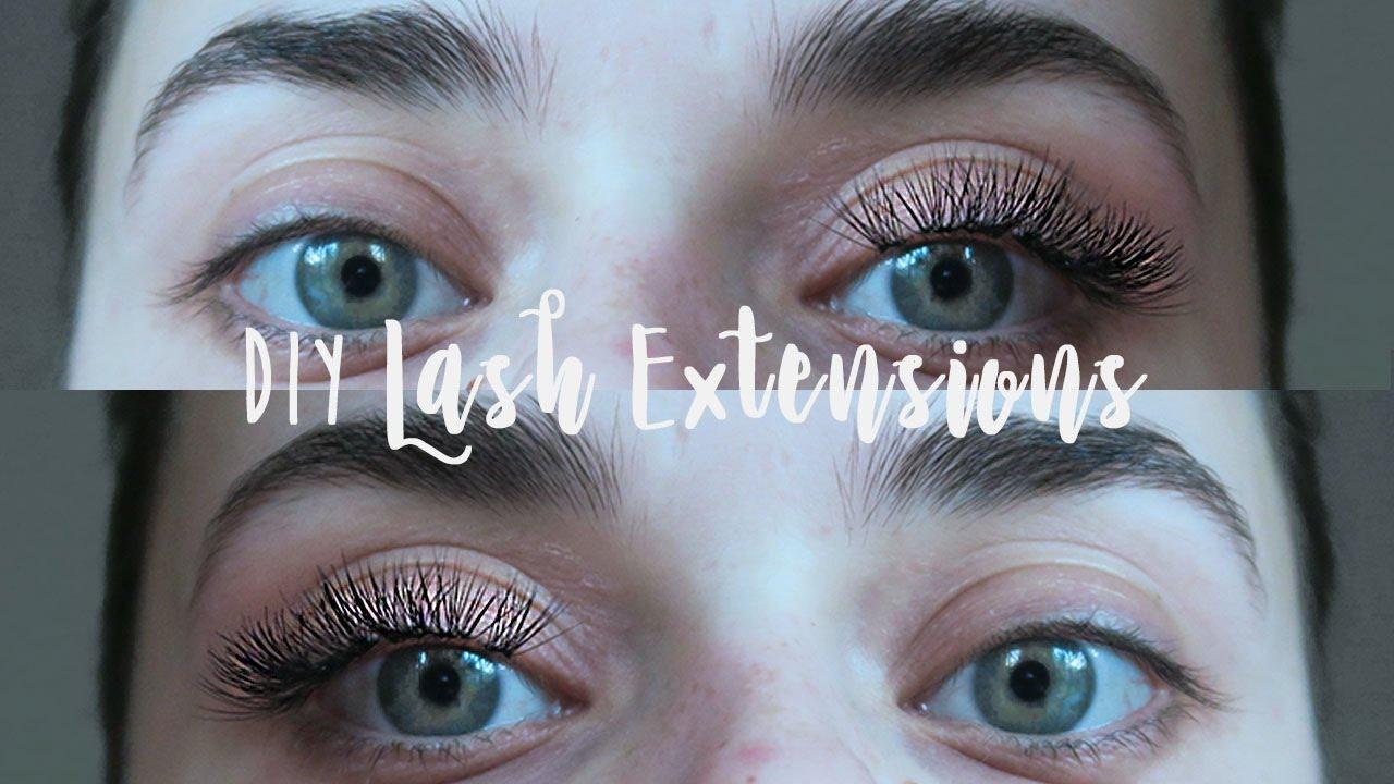 Diy Lash Extensions Super Cheap Easy Rylie Lane