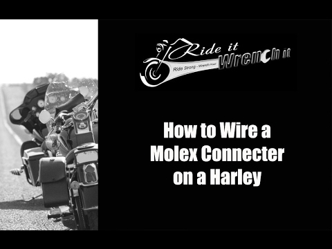 How to Wire a Molex Connector on a Harley Davidson Harley Davidson Pin Connector Wiring Diagram on toyota wiring connectors, harley davidson wiring kit, harley-davidson pigtail connectors, wiring harness connectors, harley sportster turn signal wire plugs, nissan wiring connectors, bmw wiring connectors, harley wire connectors, chrysler wiring connectors, harley touring fuel pump wiring harness, harley davidson wiring harness, harley-davidson molex connectors, harley 4 pin connectors, harley davidson wiring diagram manual, harley deutsch connectors connector reverse, john deere wiring connectors,